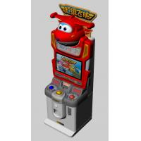 Buy cheap Colorful Lighting Children Card Game Machine Super Wings Subject Easy Use from wholesalers
