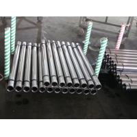 Metal Rod Hollow Piston Rod For Hydraulic Machine , Steel Pipe Bar