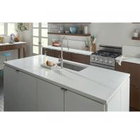 Buy cheap Manufacturer Pure White Quatz Stone Solid Surface from wholesalers