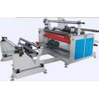 Wholesale Leather And Cloth Film Slitting Machine PE / Paper Roll Slitting Machine from china suppliers