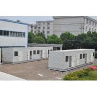 customized prefabricated modern steel structure modular container house Manufactures