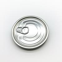 Buy cheap 300 73mm Diameter Easy Open Jar Lids Tinplate Material Silver Metal Color from wholesalers