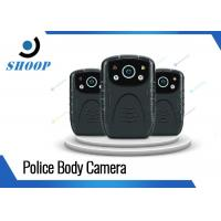 Buy cheap High Resolution Small Police Officer Body Camera Battery Life Long 3000mAh from wholesalers
