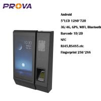 """Buy cheap 5""""LCD 1280*720 Biometric Fingerprint Scanner Device Convenient Using from wholesalers"""