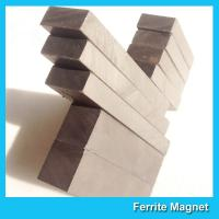 Buy cheap Powerful Hard Sintered Barium Ferrite Magnet Strong Permanent High Reliability from wholesalers