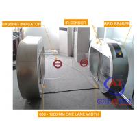 Customized Rfid Reader Swing Gate Turnstile Half Height One Lane 850mm Width Manufactures