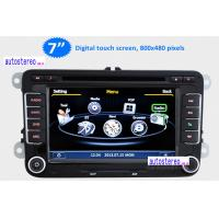 Buy cheap Three Zone Car Stereo Sat Nav Radio for VW Golf Jetta Touran Polo Passat B6 with Phonebook from wholesalers