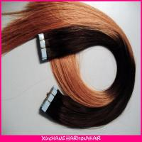 Buy cheap Fashion ombre remy tape hair extensions/ombre color tape hair extensions/ombre remy tape hair extension from wholesalers