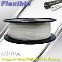 Wholesale Red Flexible 3d Printer Filament materials in 3d printing 1.75 / 3.0 mm 0.8KG / Roll from china suppliers