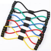 China Figure 8 Gym Resistance Bands Heavy Resistance Bands For Strength Training latex resistance bands for Upper Body Workout on sale