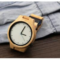 Popular Handmade Wooden Wrist Watch with Japanese Movement , custom your own logo Manufactures