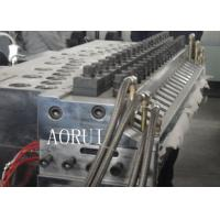 Buy cheap Full Automatic Wood Plastic Production Line 3 Phase For Billboard from wholesalers