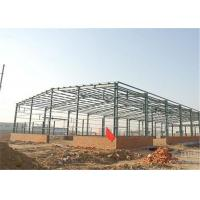 Buy cheap Industrial Steel Construction Prefab Warehouse Building Q235 / Q345 Material from wholesalers