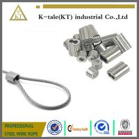 Buy cheap Aluminium Sleeves/Ferrules /Clips of cable fitting from wholesalers