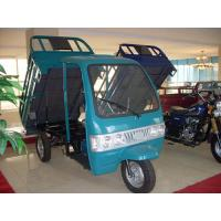 Wholesale 500 kg Passenger / Cargo Motor Tricycle With Electrical / Kick Starting from china suppliers