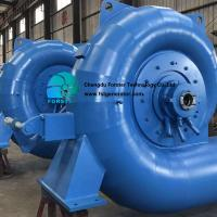 Buy cheap High Efficiency long life good price 10 - 30m water head Francis Turbine Generator Unit For HPP from wholesalers