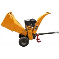 Buy cheap 15HP Gasoline Engine 5 Inch Wood Chipper With Recoil / Electric Starting System from wholesalers