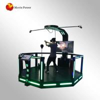 China Commercial Investments standing 9d vr super hero game machine simulator on sale