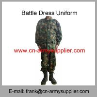 Wholesale Cheap China Army Green Camouflage Police Military Battle Dress Uniform