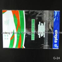 Buy cheap OPP / CPP Transparent Plastic Garment Bag, Laminated Printing Plastic Clothing Bags from wholesalers