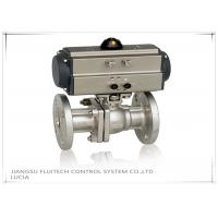 Buy cheap Double Action Stainless Steel Motorized Ball Valve / Two Piece Ball Valve from wholesalers
