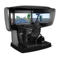 Buy cheap Vehicle Right hand driving simulator , driving lesson simulator from wholesalers
