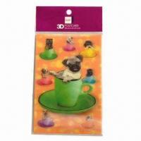 Buy cheap 3D Lenticular Post Card, Fresh and Clear Colors from wholesalers