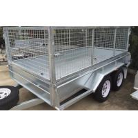 Buy cheap 10 X 6 Steel Stock Crate Trailer / Tandem Cage Trailer For Animal Transport from wholesalers