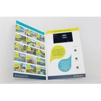 Customized tft lcd video business cards , lcd video mailer for education Manufactures