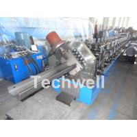 C Purlin Cold Roll Forming Machine With 18 Main Roller Stations For Thickness 1.5-3.0mm TW-C300 Manufactures