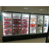 Buy cheap Digital Thermostat Plug In Upright Glass Door Freezer from wholesalers