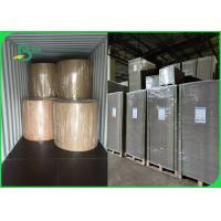 Buy cheap FSC Approved 1.2mm 1.5mm Grey Paper Board For File Folder High Stiffness from wholesalers
