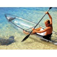 Buy cheap Plastic 2 Persons Clear Bottom Kayak Rowing Boat For Sturdy Easy To Use from wholesalers