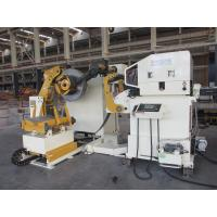 China Automation Flattening Coil Feeding Equipment Stamping Rack And Leveling 2 In 1 on sale