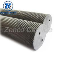 Buy cheap Two Holes Carbide Blanks Round For Making Tungsten Carbide Cutting Tools from wholesalers