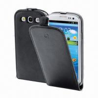 Wholesale Black PU Leather Mobile Phone Cases for iPhone 4, RIM's BlackBerry 811, Available in Various Colors from china suppliers