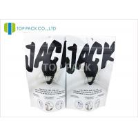 High Barrier Zip Lock Plastic Stand Up Pouches For Jack , Glossy Finished Manufactures