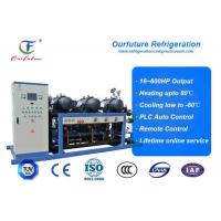 R404a Hanbell parallel screw compressor racks for frozen food storage Manufactures
