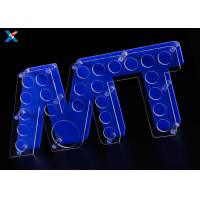 Buy cheap Customized Acrylic Shot Glass Holder Tray , Shot Glass Serving Tray Durable from wholesalers