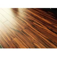 Buy cheap Brown HDF V groove Hand Scraped Dressing / Exercise Room Flooring 86138 from wholesalers