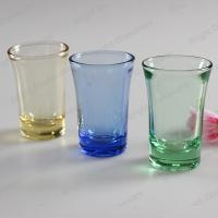 Buy cheap high quality solid color glass shot glass for wholesale from wholesalers