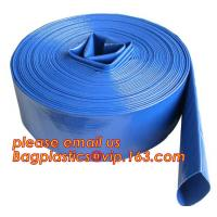 Buy cheap Liquid PVC Layflat Discharge Tubing High Pressure Water Hose 40MM For Agriculture Project from wholesalers