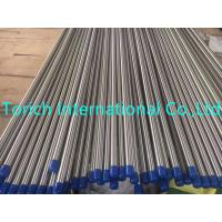 Buy cheap High Precision Seamless Stainless Steel Tubes Round Shape With Small Diameter from wholesalers