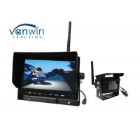 Buy cheap Wireless Rearview TFT Car Monitor , 12V Wireless Camera Kit For Dashboard from wholesalers