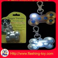 6 white LED Micro Flashing ABS Laser Pointer Keychains with Dog Tag HL-A 1182 Manufactures