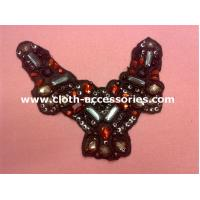 Wholesale Fashion Big Arylic Beaded Collar Necklace With Round ABS Plated Beads from china suppliers