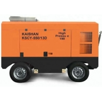 Buy cheap Portable Screw 2800kg Borewell Drilling Machine Air Compressor from wholesalers