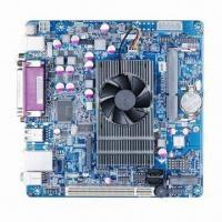 Buy cheap Mini-ITX Industrial Motherboard, on-board Intel Atom D525 w/ 5 COM Ports, Supports LVDS w/ LAN Audio from wholesalers