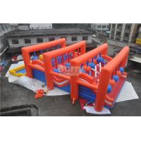 Buy cheap Huge Crazy Inflatable Obstacle Course For Adults / Inflatable Outdoor Play Equipment from wholesalers