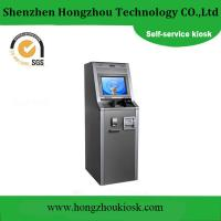Buy cheap Customized Airport Ticket Vending Machine Kiosk with Barcode Scanner from wholesalers